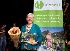 2e plaats Biowinkel verkiezing 2014