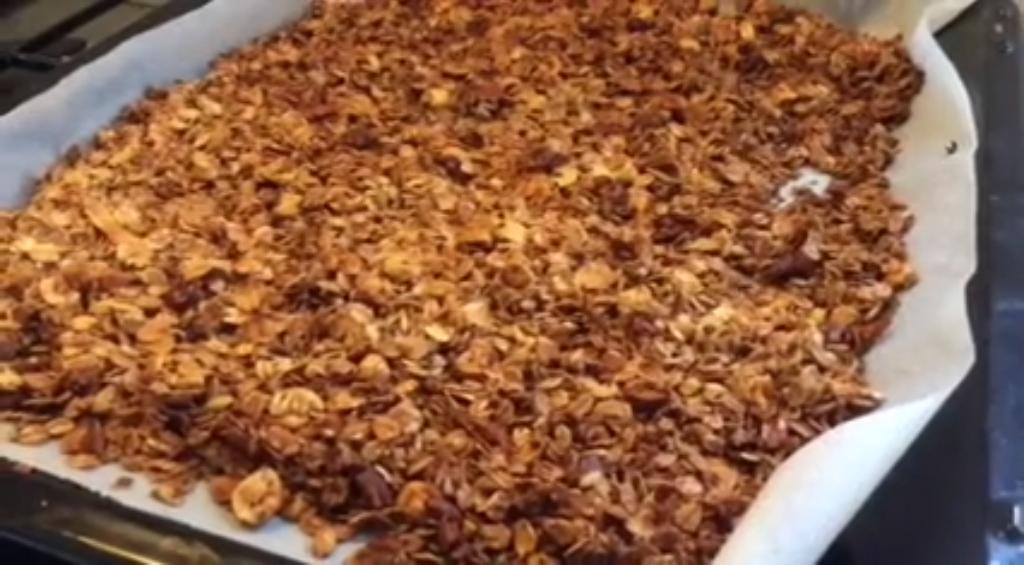 Zelfgemaakte Granola / Cruesli